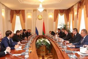 PionerProdukt / ПионерПродукт - Беларусь и Чечня имеют серьезный потенциал для развития торгового сотрудничества - Кобяков
