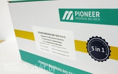PionerProdukt / ПионерПродукт - Экспресс-тесты PIONER 5 в 1 для определения  тиамфеникола, мелоксикама, колистина, триметоприма, сульфаниламидов